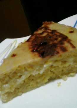 Torta cambur queso (banana-queso)