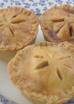 Tartaletas de pollo al curry (Chicken curry pot pies)