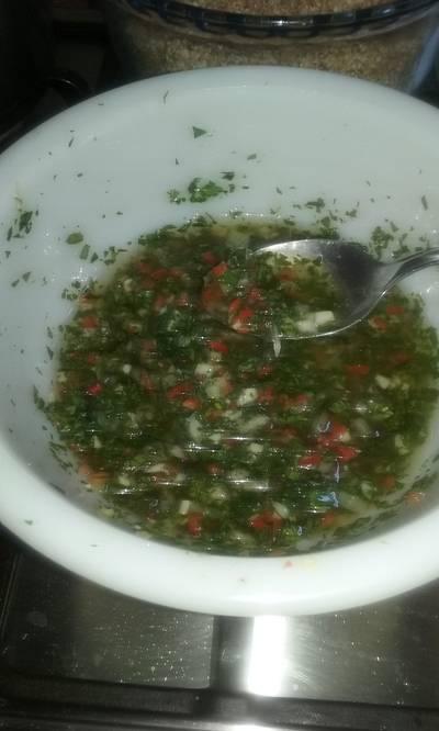 Mojito, Adobo para asado o Salsa Criolla, de Fernando
