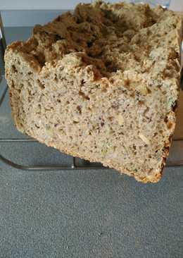 Pan integral de espelta con semillas en panificadora Moulinex