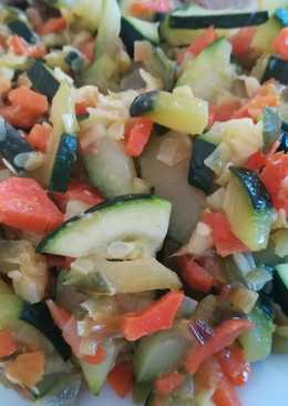 Verduras para acompañamiento de carnes o pescados