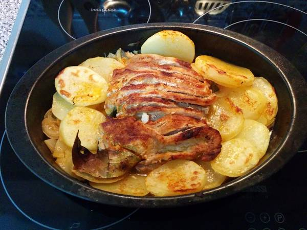 Lomo de cerdo al horno adobado