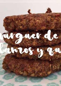 Hamburguesa Vegetal de Garbanzos y Quinoa