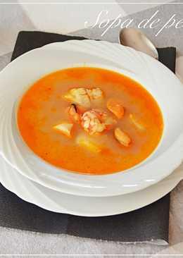 Sopa de pescado. (Thermomix)