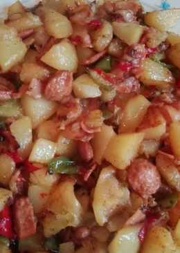 Patatas salteadas estilo alemán