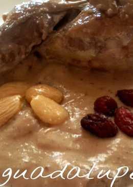 Codornices en salsa de almendras y arándanos GME, GMF y TRADICIONAL