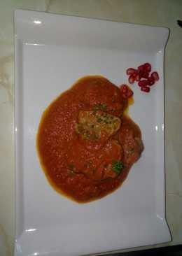 Lengua de cerdo del Cantábrico con tomate