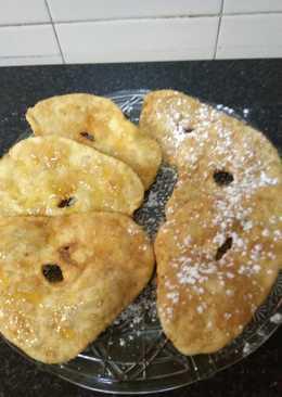 Tortas fritas con sésamo