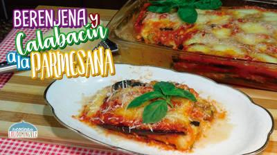 Berenjena y calabacín a la parmesana