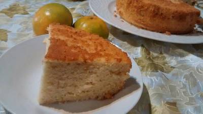 Torta de naranja, canela y clavos