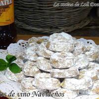 Roscos de vino Navideños