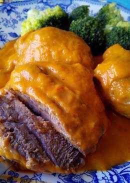Carrilleras en salsa de sidra y zanahoria