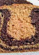 Bizcocho marmolado de vainilla y chocolate 🍫