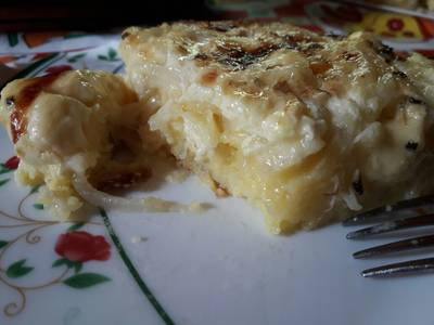 Sopa Paraguaya, al gusto familiar, Quesosa! Plato Tradicional
