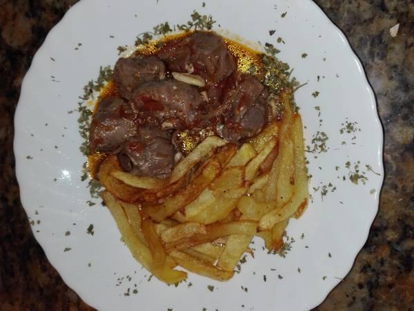 Carrillada Ibérica en salsa