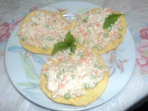 Ensalada de atún y mayonesa cuaresmal a la Mexicana