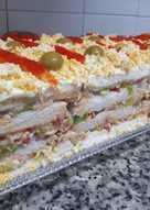 Pastel de atún con pan bimbo