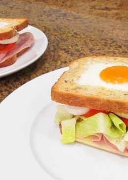 Sándwich completo al estilo B&N