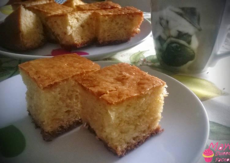 Bizcocho de limón (receta tradicional)