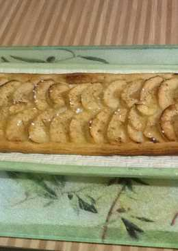 Tarta suave de manzana