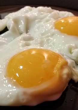 Huevos fritos perfectos