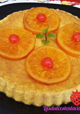 Pudín de naranja casero