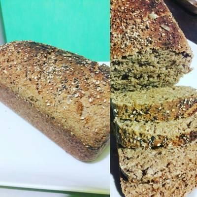 Pan de molde con harina integral y salvado de trigo