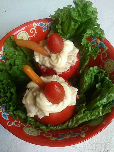 Tomates Rellenos (con sobras)