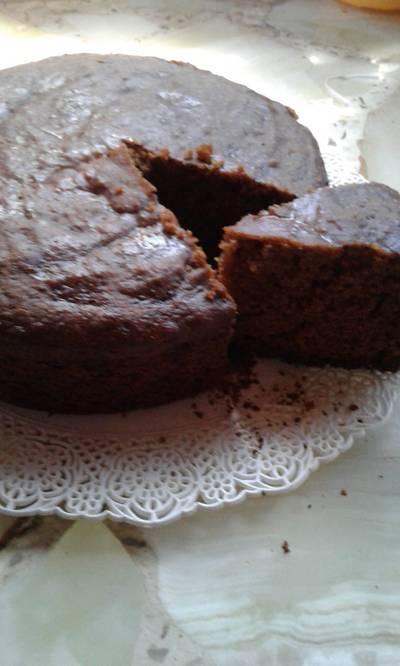 Bizcochuelo de chocolate sin harina, apto celíacos
