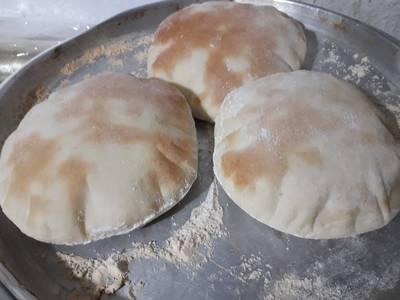 Pan árabe o pan pita casero