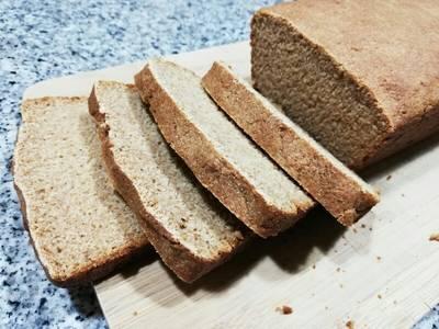 Pan de sándwich con harina de centeno