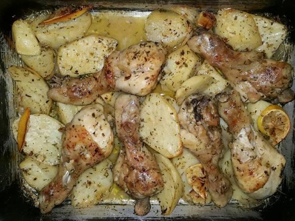Jamoncitos de pollo a las finas hierbas