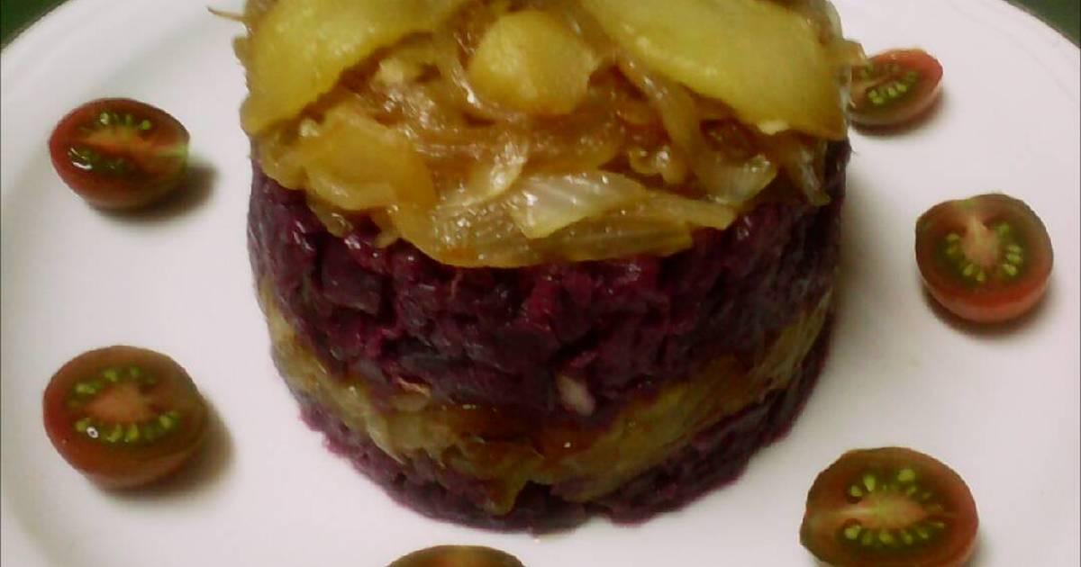 Cocinar Lombarda Con Manzana | Lombarda Con Cebolla Y Manzana Caramelizadas Receta De Mayte