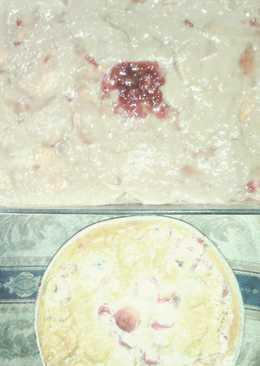 Torta de choco y fresa y Torta de fresa y cambur