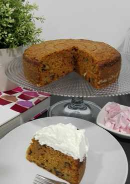 Pastel de zanahoria - carrot cake