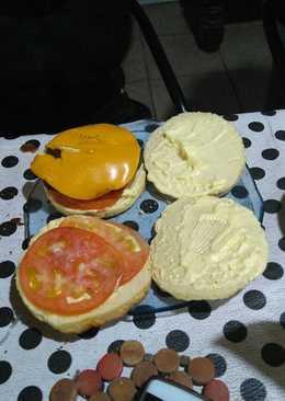 Pan para hamburguesas sin TAC