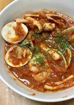 Bouillabaisse (Sopa de mariscos)