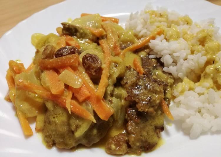 Seitán en salsa de almendras Receta de AnabelBernal - Cookpad