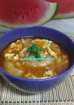 Sopa de ajo de la abuela Juana