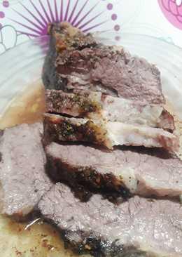 """Carne al horno """"Cima sabrosa y tierna"""""""
