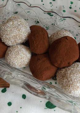 Bombones de castañas y frutos secos