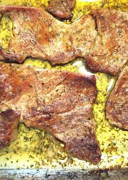 Secreto de cerdo ibérico al horno