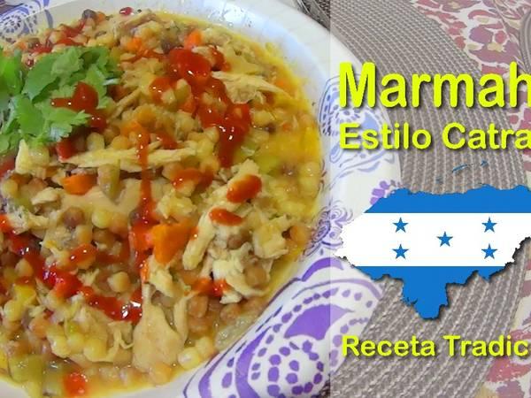 Marmaon, Marmahon de Honduras (Receta completa)