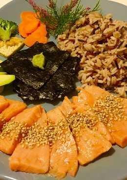 Chirasi de salmón