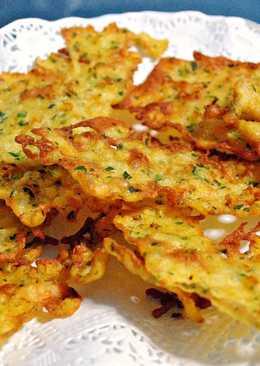 Tortillucas de quisquillas de Cantábria