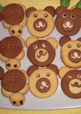 Galletas con formas de animales