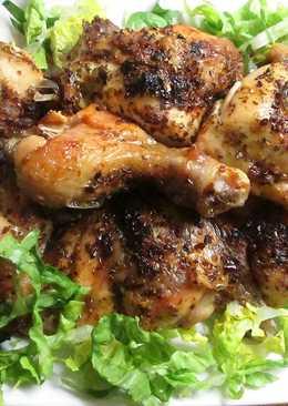 Presas de pollo al horno con preparado especial para chimichurri