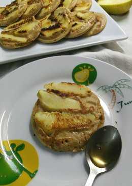 Tortitas de avena con manzanas