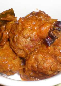 Curry de albóndigas de Kerala