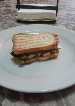 Sándwich sin gluten vegano 🍞